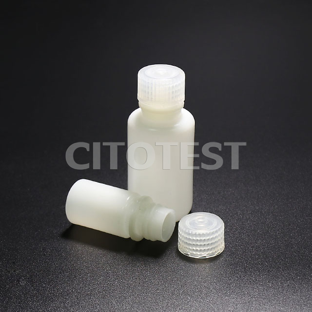 Narrow-Mouth Round Bottle, HDPE Material