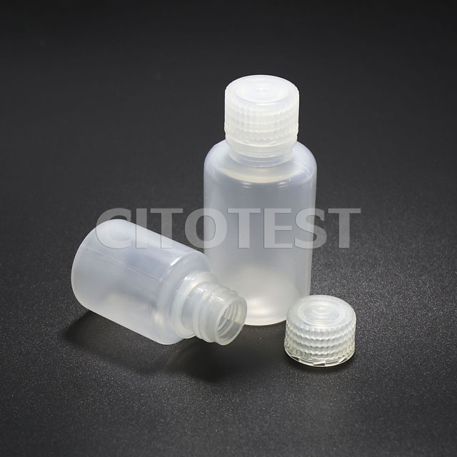 Narrow-Mouth Round Bottle, PP Material