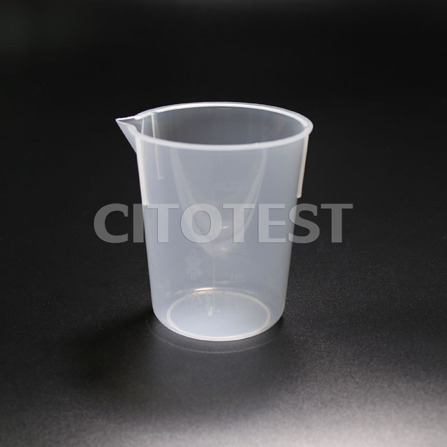 Low Form Beaker with Molded Graduation, PP Material